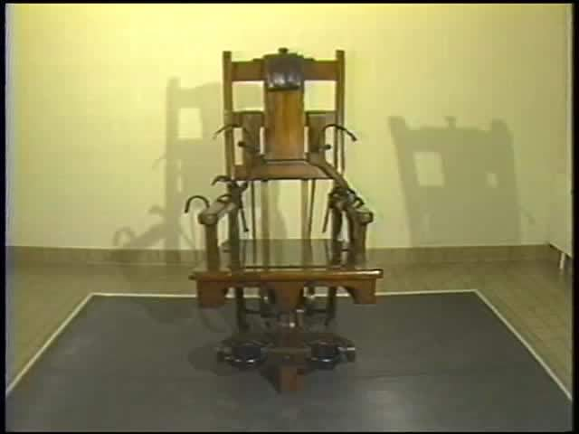 Vintage Video: Meet 'Old Sparky,' Ohio's Electric Chair | Scene and Heard:  Scene's News Blog - Vintage Video: Meet 'Old Sparky,' Ohio's Electric Chair Scene And