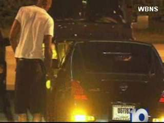 Raw video: Terrelle Pryor leaving in car