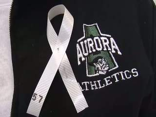 Aurora Football Player