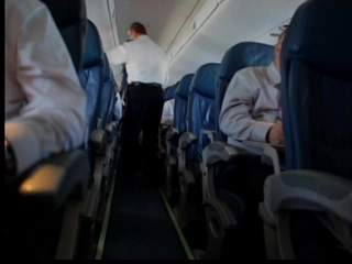 Avoiding germs when traveling by airplane