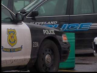 6pm: Cleveland police officers come back to work