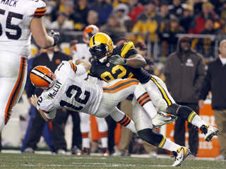 browns vs steelers Dec 8