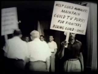 jul 2 1955 WEWS picketers