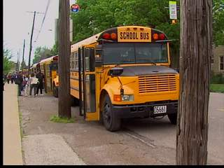 Cleveland school bus plan