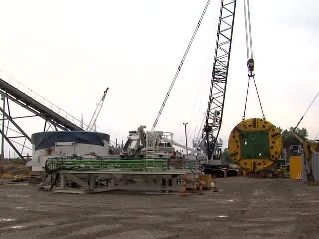 Mackenzie NEORSD tunnel boring machine