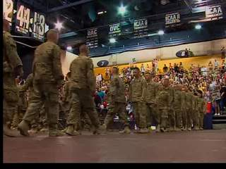 National Guard Unit Returns Home
