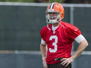 Quarterback Brandon Weeden