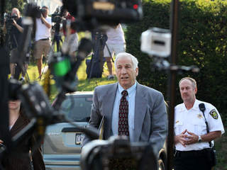 Jerry Sandusky's adopted son says his father abused him