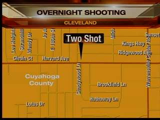 4:30am: Two shot on Cleveland's east side