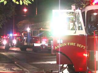 Raw: Preston Avenue fire