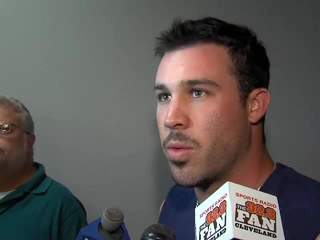Mike Cairns Indians Workout Report 7-12-2012
