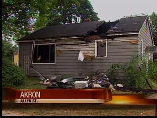 3 overnight fires in Akron Saturday