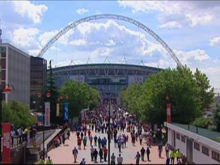 Wembley, Olympic soccer stadium