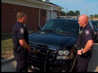 Avon patrolman was shocked baby was in car he was chasing