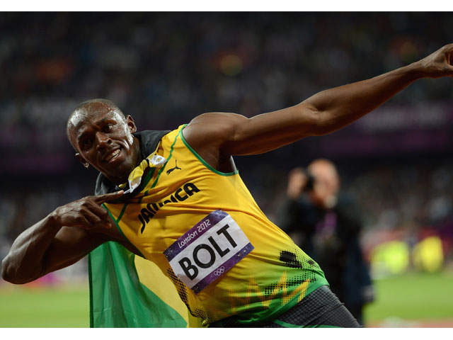 Usain Bolt pays homage to LeBron James at Rio