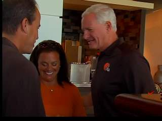 Jimmy Haslam at family night