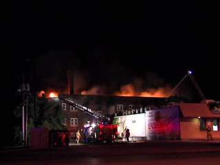 Raw: East Cleveland fire