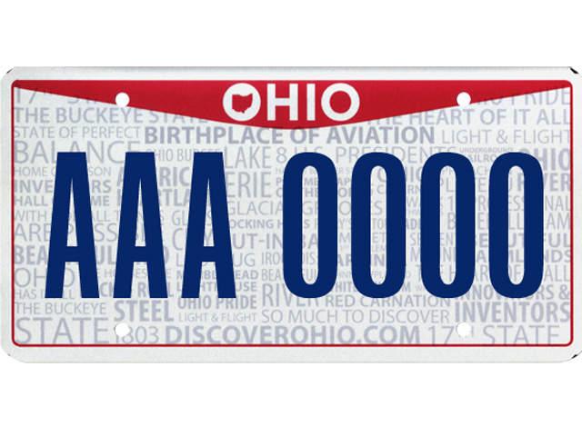 New Ohio License Plate 39 Ohio Pride 39 Design Now Available