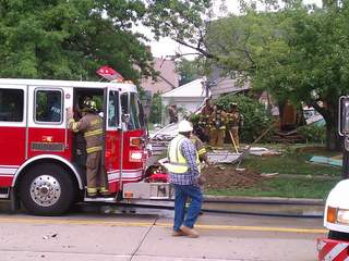 Maple Heights house explosion, Dunham Road, Aug. 14, 2012