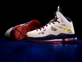 Auto Racing Shoes Nike on Nike S Lebron X Shoe  Image Courtesy  Nike