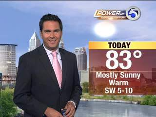 Wednesday's afternoon weather brief