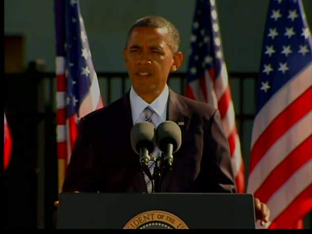 RAW: President Obama reflects on 9/11