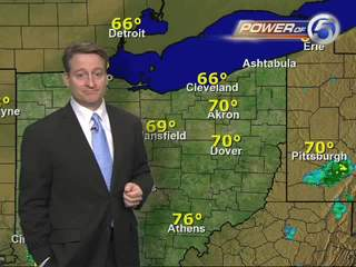 Evening weather forecast