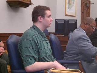 Brogan Rafferty in court