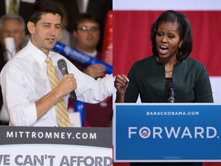 Paul Ryan, Michelle Obama
