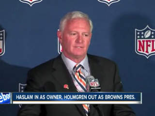 Jimmy Haslam owns the Browns