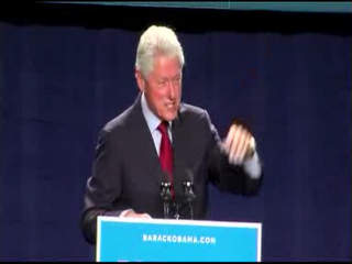Bill Clinton in Parma