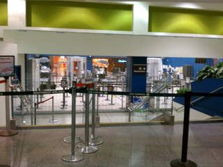 Cleveland Airport security gate closed_20121030164230_JPG