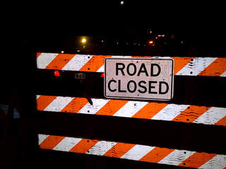 SR 608 closed in Middlefield