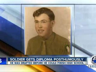 Norton HS honors veteran