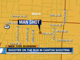 4:30am: Canton shooter at large