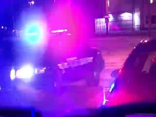 Raw: Cleveland police chase and shooting
