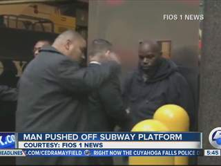 5am: Suspect implicates self in subway push