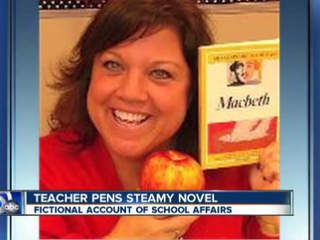 North Canton teacher writes steamy novel