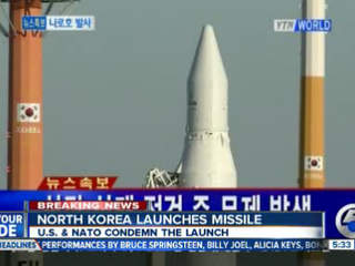 5am: North Korea rocket launch