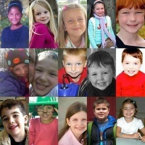 children lost in the sandy hook elementary tragedy via rip sandy hook
