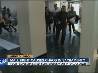 4:30am: Scare at Sacramento mall after fight