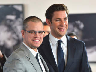Matt Damon and John Krasinski