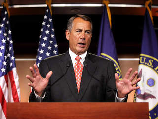 John Boehner on fiscal cliff