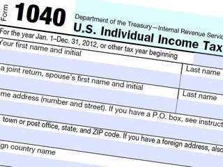 1040 tax form for 2012