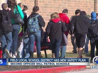 6pm: Field enhances school safety