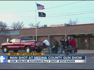 Man shot at Medina County gun show