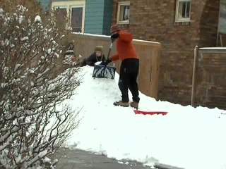 Snow shovels / removal