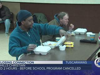 Homeless center in Cleveland opens daily because of cold temperatures