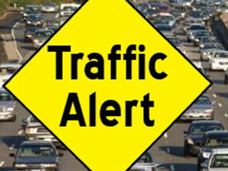 Traffic alert, crash, road closure, generic