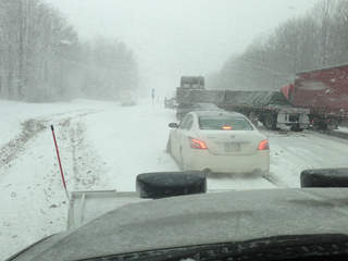 I-90 west reopens in Lake County after multiple crashes ...